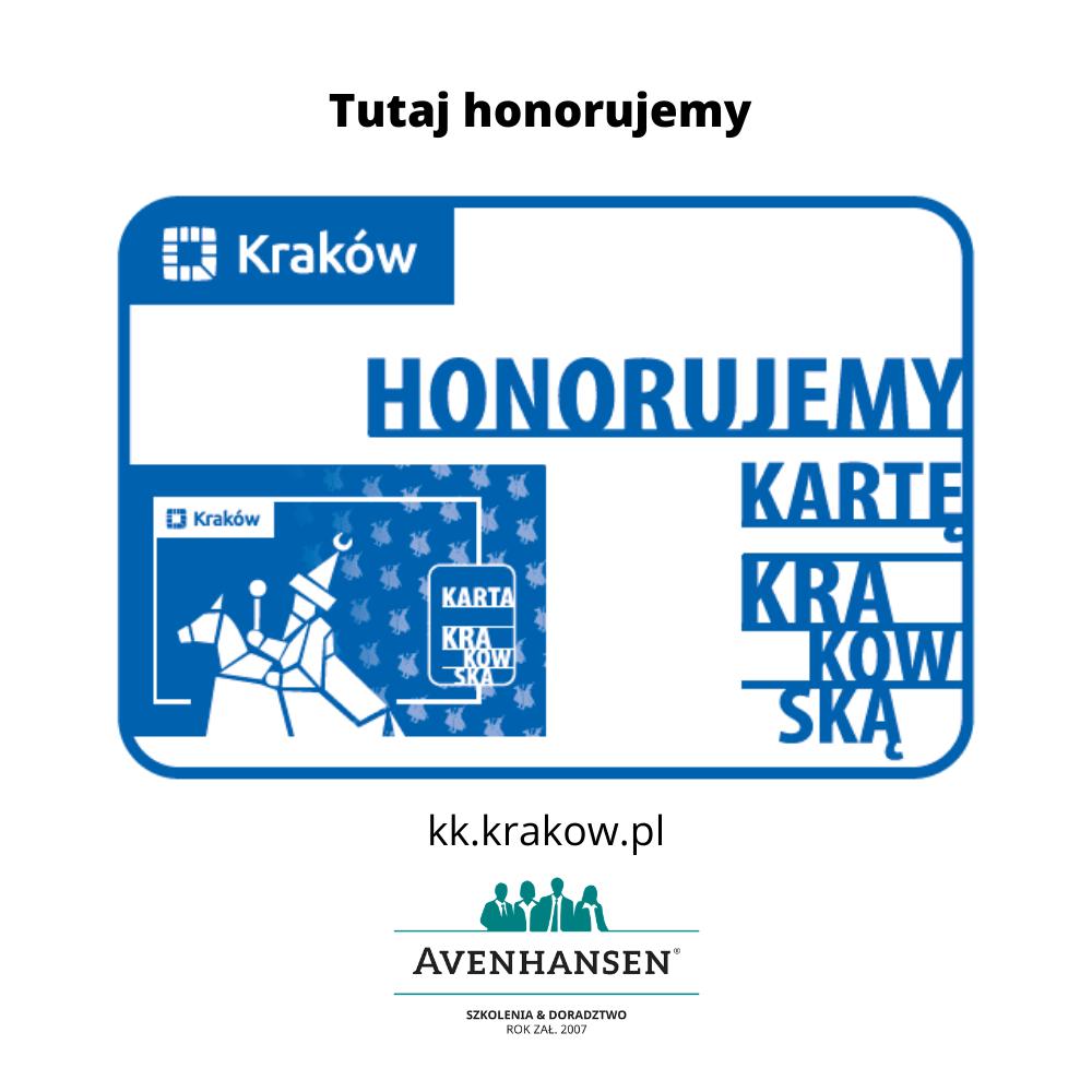 "Firma AVENHANSEN Sp. z o.o. - tu honorujemy ""KARTĘ KRAKOWSKĄ"""